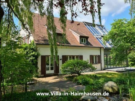 Haimhausen - Villa im Park mit Indoor-Pool in Fußentfernung BIS