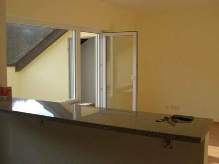 Lahr/Schwarzwald - Sonnige 2 Zimmer DG-Wohnung mit großer blickgeschützter Dachterrasse