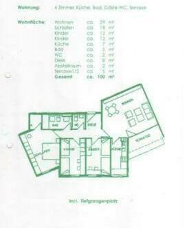 Frankenthal (Pfalz) - Familien Wohnung, Kinderfreundlich