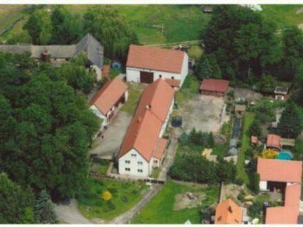 Merzdorf - Romantisches Wohnen auf einem gepflegten 3 Seiten Hof!