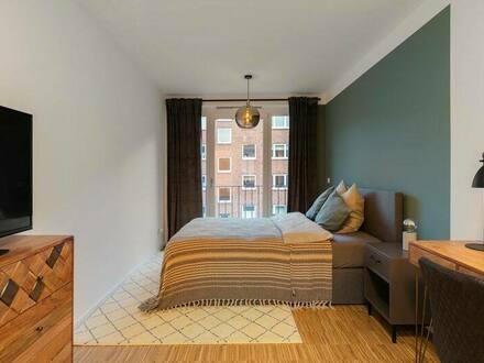 Hamburg - 1-Zimmer-Wohnung mit Einbauküche in Eilbek