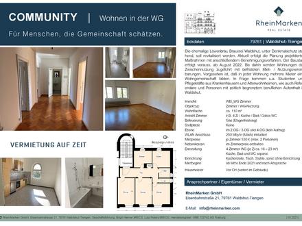 Waldshut-Tiengen - COMMUNITY | Wohnen in der WG Für Menschen, die Gemeinschaft schätzen.