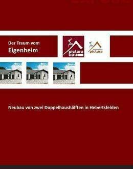 Hebertsfelden - Neubau von 2 Doppelhaushälften, in 84332 Hebertsfelden