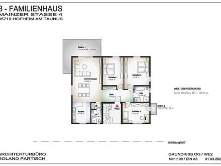 Hofheim - Moderne, großzügige und sehr gepflegte 4-Zimmer-Wohnung in Hofheim