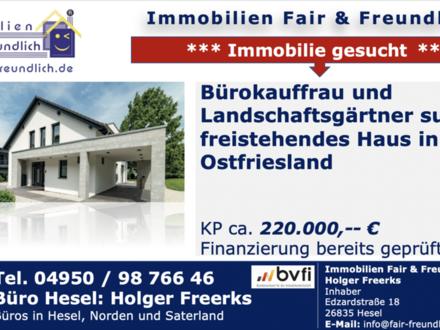 Emden - * Bürokauffrau und Landschaftsgärtner suchen neues Zuhause *