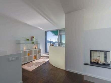 München - Freistehendes Penthouse, einzig- artiger Neubau in München-Bogenhausen