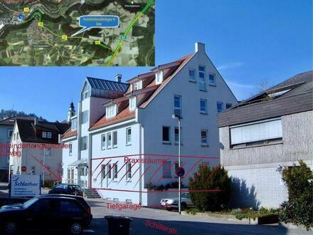 Horb am Neckar - Praxis-/ Büroräume in Kernstadt