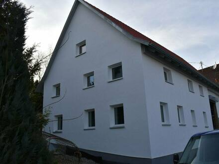 Schwendi - Einfamilienhaus freistehend sehr große Doppelgarage