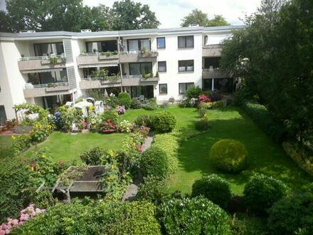 Bremen - Horn - Bremen Horn, ruhige 3 Zimmerwohnung mit Loggia und Aufzug
