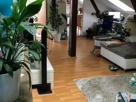 Joachimsthal - Charmante 2-Raum-DG-Wohnung mit Einbauküche in Joachimsthal