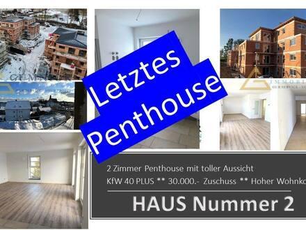 Kemnath - Großzügiges 3 Zimmer Penthouse ** KfW 40 PLUS + 30.000.- Euro Zuschuss ( 3. Etage) Lift