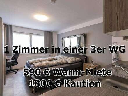 Pforzheim - ab sofort - WG Zimmer in Pforzheim - vollständig möbliert