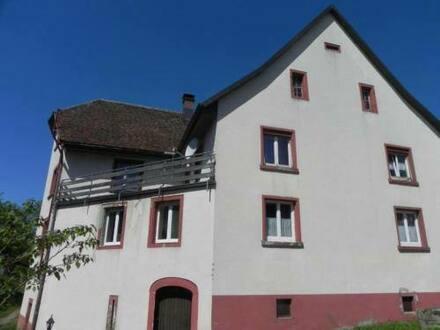 Laufenburg- Hochsaal - Wassermühle am Hochrhein, schweizer Grenze, mit Scheune Ausbau