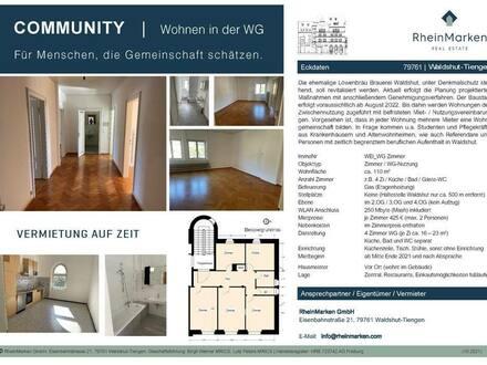 Waldshut-Tiengen - COMMUNITY | Wohnen in der WG | Für Menschen, die Gemeinschaft schätzen.