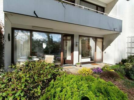 Hamburg - +++Blick ins Grüne+++ Stilvolle 3-Zimmer-Wohnung in Volksdorf, Hamburg