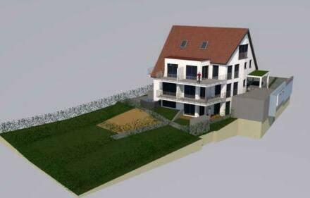Nürtingen - Stilvolle 3-Zimmer-Maisonette-Wohnung mit Balkon, Eigengrundstück