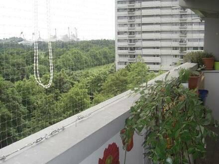 München - Olympiapark Helle 3Zi-Wohnung XXL-Balkons super Ausblick und ruhig