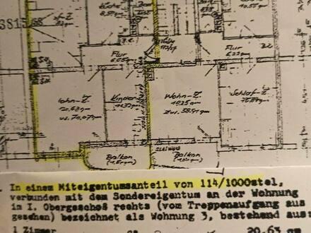 Nürnberg - Drei Zimmer Wohnung in Nürnberg Süden - Steinbühl