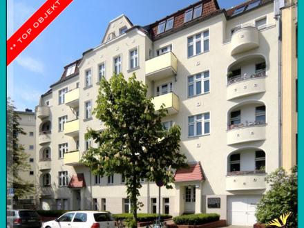 Berlin - FRIEDENAU : Schöne BALKON-Wohnung im 3. OG nahe BUNDESPLATZ