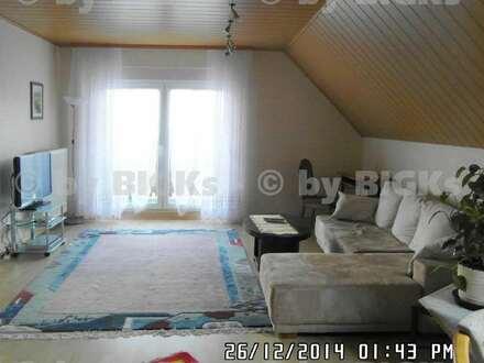 Halle - Hohenthurm: Möblierte 2-Zimmer Wohnung mit großem Balkon (-;)