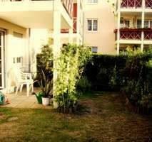 Seefeld Werneuchen - Gepflegte 2-Raum-Wohnung mit zwei Terrassen und Einbauküche in Seefeld am Rande von Berlin