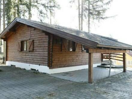 Denkendorf - Holzblockhaus nur 2. Wohnsitz möglich + 1000 qm Waldhangfelsgrund