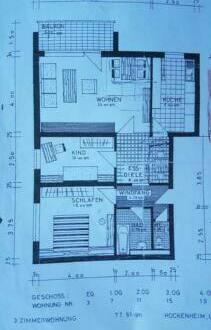 Hockenheim - 3 ZKBB Wohnung