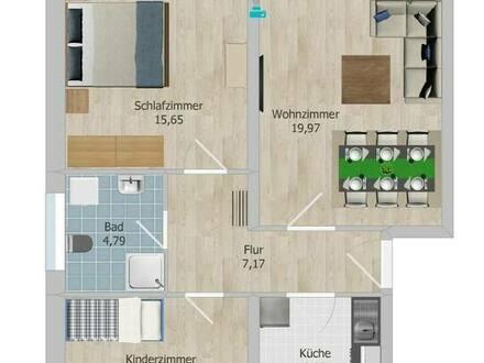 Hannover - Helle moderne 3 Zimmer Terrassen Eigentumswohnung