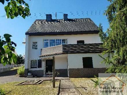 Idar-Oberstein - ZUHAUSE MIT STIL ... gepflegtes EFH mit ELW, Garage und großem Garten im Stadtteil Oberstein Neuweg