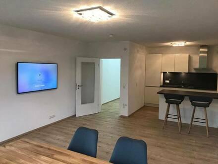 Meersburg - Exklusive, vollständig renovierte, möblierte 2-Zimmer-Wohnung mit Balkon in Meersburg