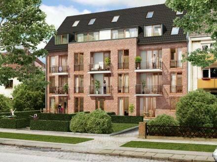 Hamburg (Winterhude) - 4 Zimmer Maisonette Wohnung (Zwei Balkonen) mit direkt Stadtpark Blick