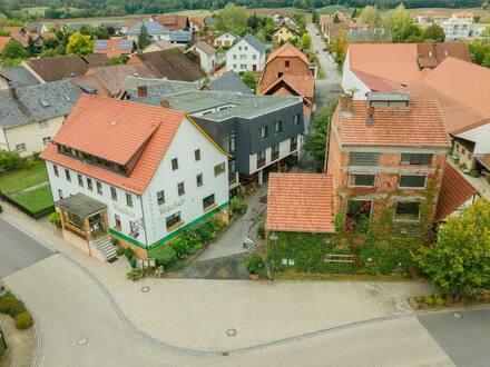Bad Rodach - Großes Anwesen in Bad Rodach Ortsteil, 7 Gebäude mit vielen Nutzungsmöglichkeiten!