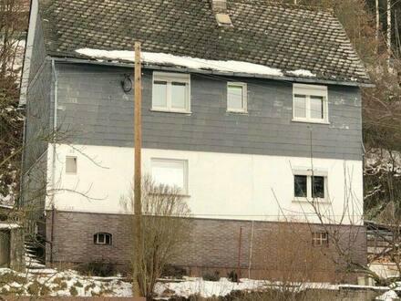 Bad Laasphe - freistehendes Einfamilienhaus in Zentrumsnähe von Feudingen