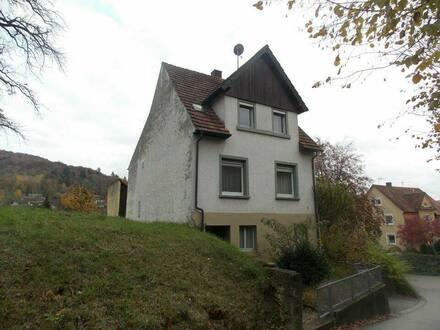 Lahr (Schwarzwald) - Frei stehendes 1-Familienhaus mit Garten, Terrasse und Garage