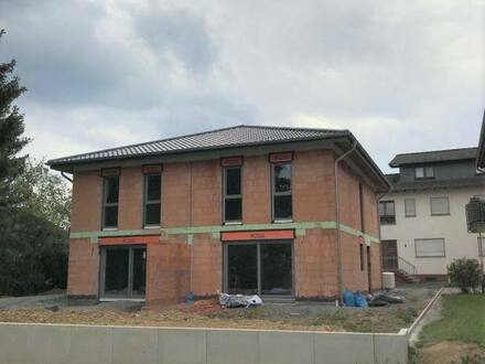 Flammersfeld - Hier entsteht ein modernes Doppelhaus