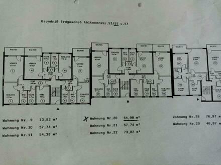 Lehrte - Schöne helle 2 Zimmer Eigentumswohnung