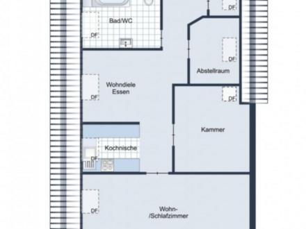 Dittelbrunn - Attraktive Kapitalanlage! Sehr gut vermietete 3- und 4-Zimmerwoh.