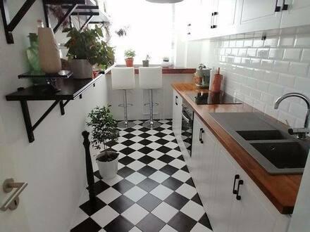 Neuss - 3-Raum-Wohnung mit Balkon und Einbauküche in Neuss