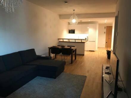 Frankfurt am Main - Erstbezug: exklusive 2-Zimmer-Wohnung mit Einbauküche und Balkon im Euopaviertel