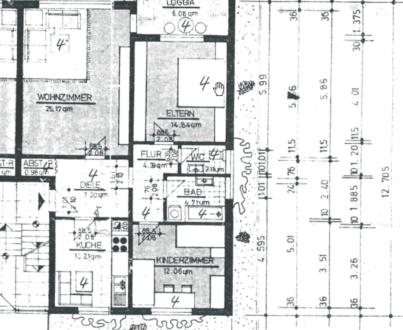 Bremerhaven-Wulsdorf - Provisionsfreie 80 qm 3 Zimmer Wohnung in Bremerhaven-Wulsdorf