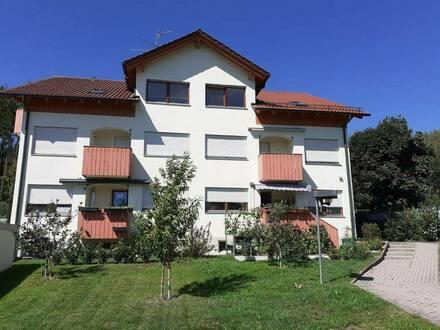 Offingen, OT Schnuttenbach - Dachgeschosswohnung 3 Zimmer, Balkon in herrlicher Lage