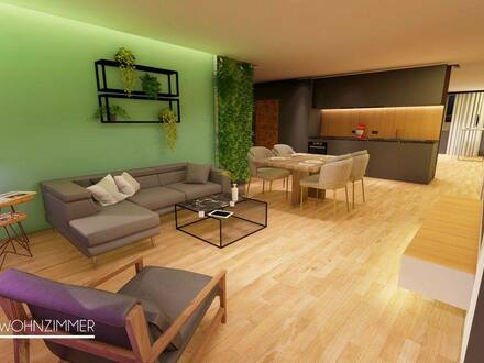 Freilassing - Luxuriöse - Kernsanierte - 4 Zimmerwohnung