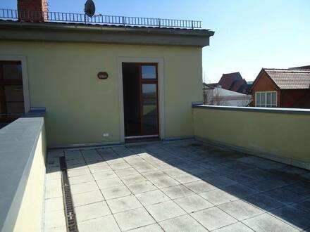 Naumburg (Saale) - exklusive 2-Raum-Wohnung mit großer Dachterrasse
