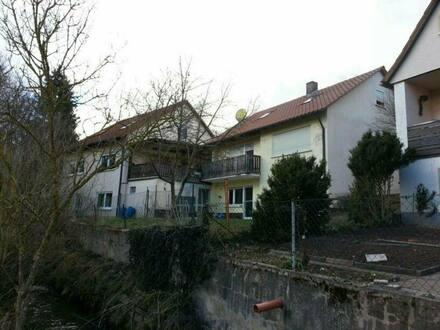 Markt Erlbach - Mehrfamilienhaus in ländlicher Gegend 10 km von NEA entfernt