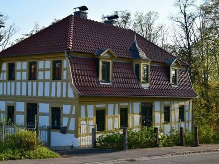 Weitramsdorf - Für das umweltbewusste Wohnen - Saniertes rustikales Fachwerkhaus bei Coburg