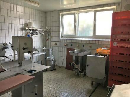 Roth - EZ-zertifizierte Produktsfläche für Lebensmittel mit Kühlraum zu vermieten