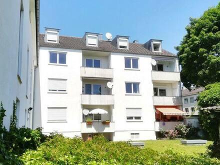 Neuburg a.d. Donau - Neuburg a.d. Do.: 3 Zi-Wohnung mit Südbalkon in Ostendstraße