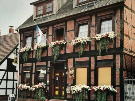 Schnackenburg - Historisches 9-Zimmer-Einfamilienhaus Pension+Gaststätte