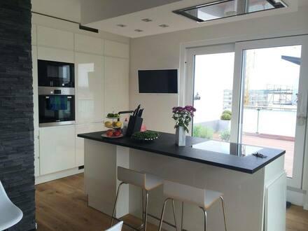 Kelsterbach - Penthouse Wohnung Kelsterbach ohne Makler 123qm 2x TG-platz