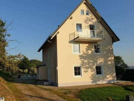 Glashütte-Hermsdorf a.W. - Erstbezug, moderne helle 2-3 Zimmer Wohnung mit großem Balkon, 15 km bis TU Dresden